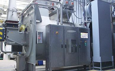 Oil heating system for continuous fryers