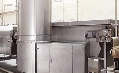 Cooling equipment for fruit snack products