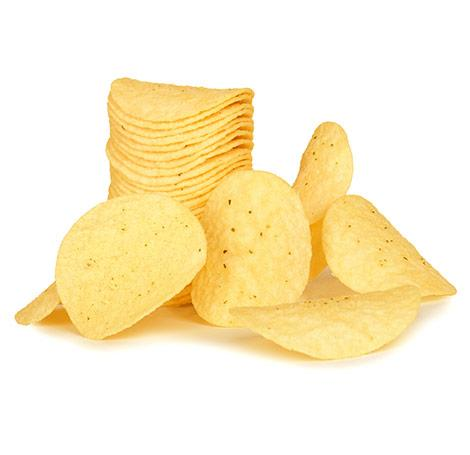 Food processing systems for making fabricated chips