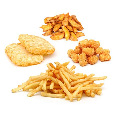 Food Industry - French Fries & Potato Co-Products
