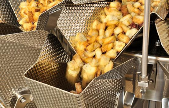 Ishida multihead weigher weighing croutons