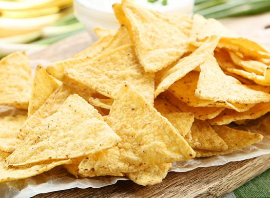 Tortilla Chips made with masa flour