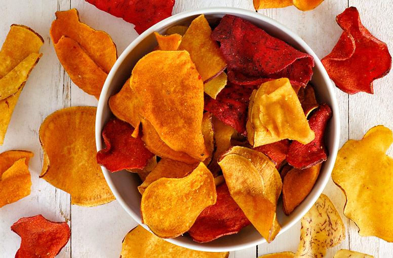 Veggie and fruit chips