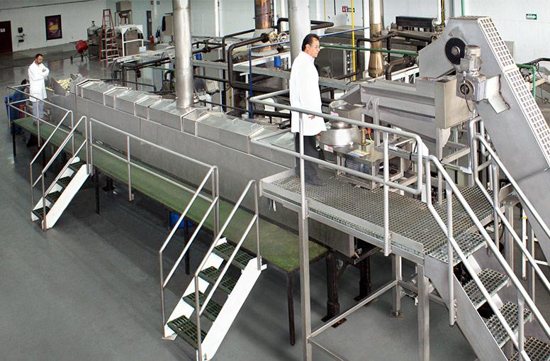 Producing high quality potato chips with long shelf life