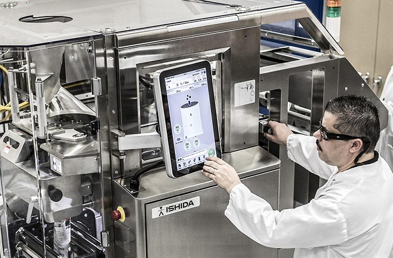 User-friendly controls on Ishida Inspira bagmaker