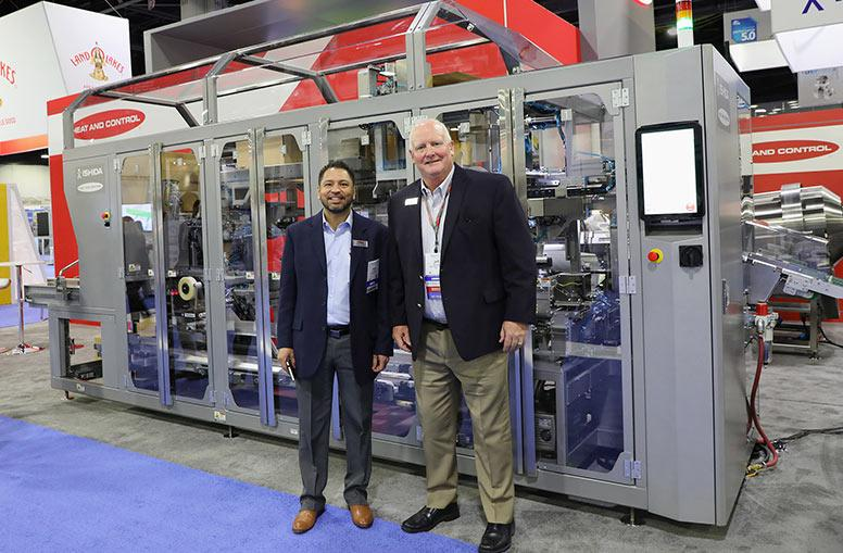 Ishida Case Packer at Snaxpo