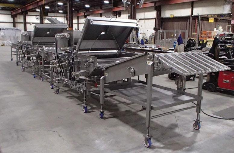 Seafood Frying, Batter and Breading, and Conveying equipment