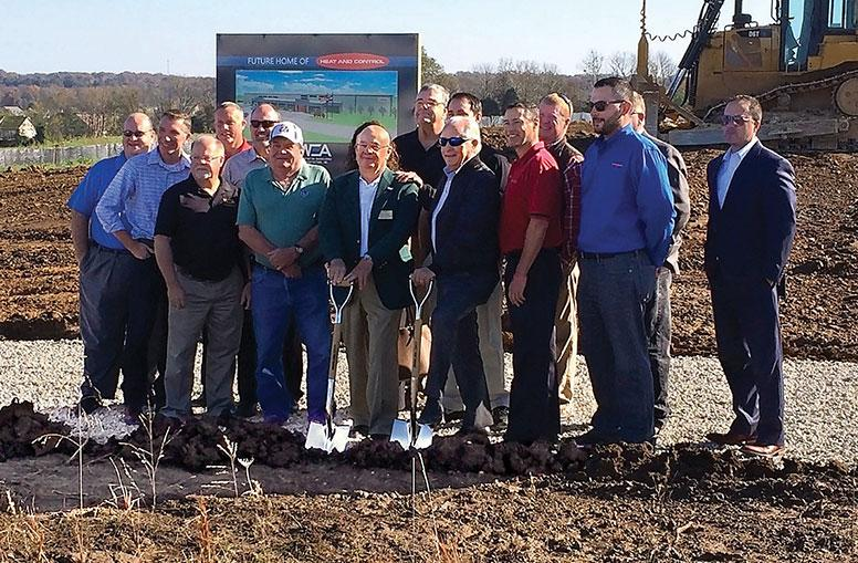 Heat and Control breaking ground new Union, MO Facility