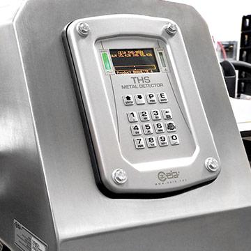Industrial metal detectors for food industry